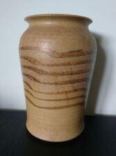 Beige Vases Vintage Original British Art Pottery