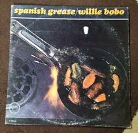 """Vintage 1965 Willie Bobo """"Spanish Grease"""" LP - Verve Records (V6-8631) EX+"""