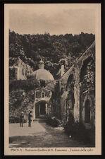 cartolina PAOLA santuario-basilica s.francesco-fornace della calce
