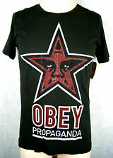 Obey Propaganda T-Shirt/Tee Farbe Black Größe S