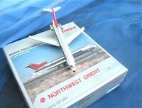 herpa northwest orient boeing 727-200 1:500 nr 503143 in ovp sammlg selten!