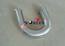 "180 Degree 2.25"" 57mm Aluminum Turbo Intercooler Pipe Piping Tube Tubing 600mm"