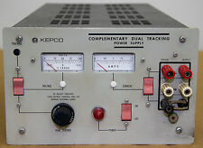 Kepco     P#CDT 100-0.2 M        Complementary Dual Tracking Power Supply