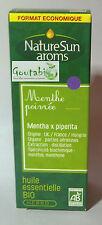 NatureSun Aroms - Huile essentielle Menthe poivrée Bio - 30 ml