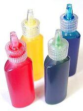 Grandes Cepillos Vitral Pintura Artesanal Juego De 4 X 20 Ml Colores Primarios
