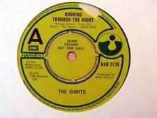"EX !! The Shirts/Running Through The Night/1978 Harvest Demo Punk 7"" Single"