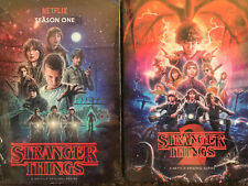 STRANGER THINGS SEASON 1+2 DVD BOX SET PROMO EMMY FYC COLLECTIBLE NETFLIX