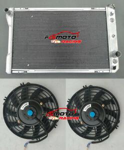 3 ROW Radiator+Fans For Pontiac Firebird/Trans Am/Chevy Camaro 305 350 V8 82-92