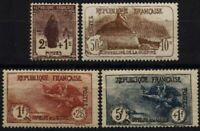 N°229 à 232 - ORPHELINS DE LA GUERRE - Timbres de France - Charnière // 1926-27