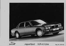 "1989 JAGUARSPORT XJR 4.0 LITRE PRESS PHOTO AND PRESS RELEASE "" brochure related"""