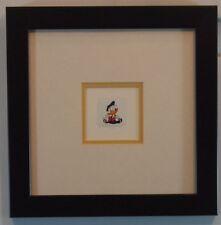 CUTE Dapper Donald Duck Etching Sowa & Reiser Disney Framed Limited Print Art