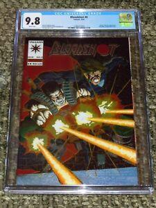 1994 Bloodshot #0 CGC 9.8 Chromium (Origin) Valiant Comics Vin Diesel Movie