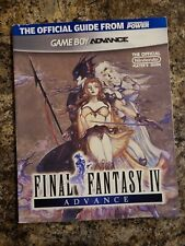 Final Fantasy IV Advance Strategy Guide Book Nintendo Power Gameboy Advance GBA
