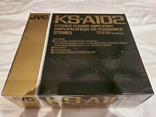 NEW VINTAGE OLD SCHOOL 1980'S JVC KS-A102 AMPS MADE IN JAPAN QUALITY AMPLIFIER