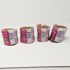 Mary Maxim Rug Yarn Latch Hook 100% Acrylic Pre-cut Lot of 4 #5920 Dark Beige?