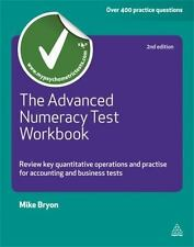The Advanced Numeracy Test Workbook: Review key quantitative operation-ExLibrary
