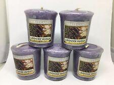 Yankee Candle 5x Lavender Vanilla 49g Votives USA EXCLUSIVE VERY RARE