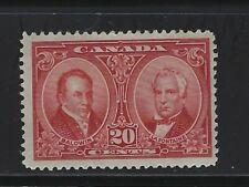 CANADA - #148 - 20c BALDWIN & LAFONTAINE MINT STAMP MLH HISTORICAL ISSUE
