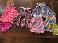 Baby gap girls dress Romper lot 12-18 And 18 months Gymboree Sweet Potatoes