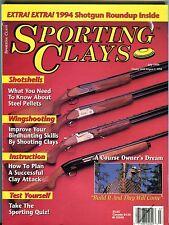 Sporting Clays Magazine July 1994 Shotshells EX No ML 092316jhe