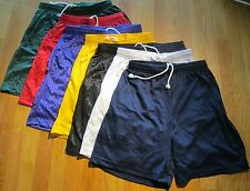 Jogging Short 100 % Polyester Small Plain 6 pc 5 color 2 Pocket  Draw String