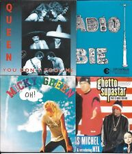 LOT 8 SINGLES VI MICKY GREEN/QUEEN/ROBBIE WILLIAMS/MINOGUE/STING/BLACK EYED PEAS