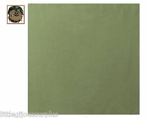 "YOU GET  (1) OD GREEN 100% Cotton Bandana (22 ""x 22"") 4151"
