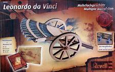 KIT REVELL 1:16 MITRAGLIERE MULTIPLE IN LEGNO LEONARDO DA VINCI 00510