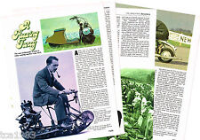 Vintage Motor/SCOOTERS Article / Photos / Pictures: Vespa,