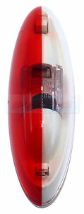 JOKON RED WHITE SIDE MARKER LAMP LIGHT ELDDIS AVANTE CRUSADER XPLORE CARAVAN