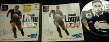 Jonah Lomu Rugby (Sony PlayStation 1, 1997) Sammler aufgepasst! Australien Pal!