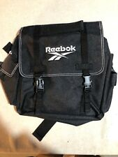 Vintage Reebok Black Small Backpack School Bag Book Bag College Bag Reebok Mead