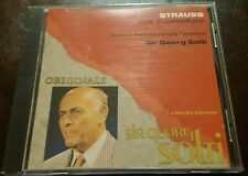 Strauss - Eine Alpensinfonie by Sir Georg Solti CD Limited Numbered Italy NM