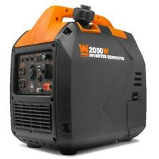 WEN Super Quiet 2000-Watt Portable Inverter Generator with Fuel Shut Off, CARB C