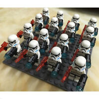 4 Pcs Snowtrooper MiniFigure Block MiniFigures Kids Toy Doll Gifts For LEGO