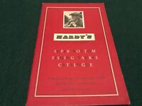 Hardy's Super Bottom Fishing Tackle Catalogue 1955