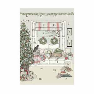 Sally Swannell Waiting For Father Christmas Advent Calendar Card
