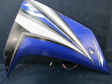 Yamaha YFZ R1 Upper Right Mid Side Fairing Cowl Panel 2 Blue 2007 2008 07 08