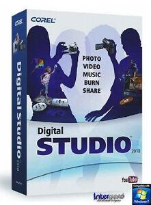 Corel Digital Studio 2010 Vollversion Foto & Film OVP NEU