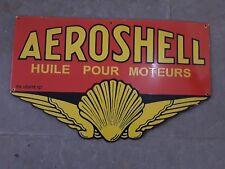 Aeroshell 1934 Alfa Ferrari Shell Oil and Gas Advertisement Metal Sign