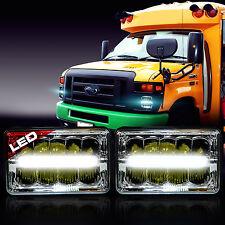 LED Headlight Headlamp Upgrade for Ford Super Duty Truck E450 E550 E350 (2 Pack)
