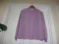 PENDLETON  BUTTON DOWN LONG SLEEVE SHIRT Purple color Sz 14 petite