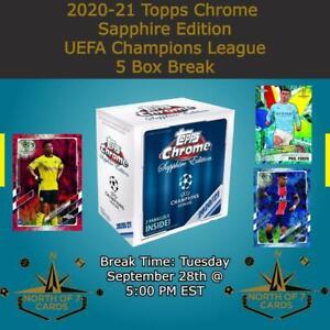 Youssoufa Moukoko - 2020-21 Topps Chrome Sapphire UEFA 5X Box Break #2