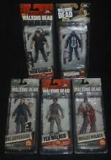 The Walking Dead 5 Set Rick, Michonne, The Governor & Flu & Bungee Walkers Mip