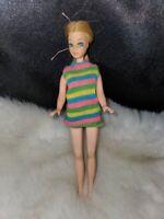 "1970 Topper Dawn 6-1/2"" doll Hong Kong blonde Barbie"