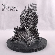 """7""""(17cm) The Iron Throne Game Of Thrones A Song Of Ice And Fire Replica Statue"""