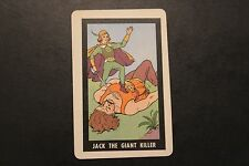 Vintage Jack the Giant Killer Old Maid Playing Card