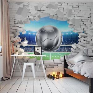 VLIES FOTOTAPETE Tapete Wandbilder XXL Sport Fußball Ball Wand Stadion 2141
