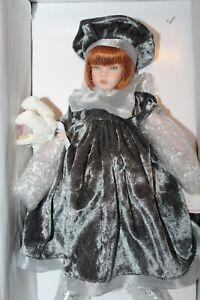 """Pauline Bjonness-Jacobsen Porcelain & Cloth Doll """"Trixie"""" 12"""" NRFB LE 950"""
