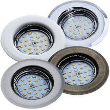 Einbaustrahler GU10 Rahmen rund Einbaurahmen Einbauleuchte Spot LED Aura